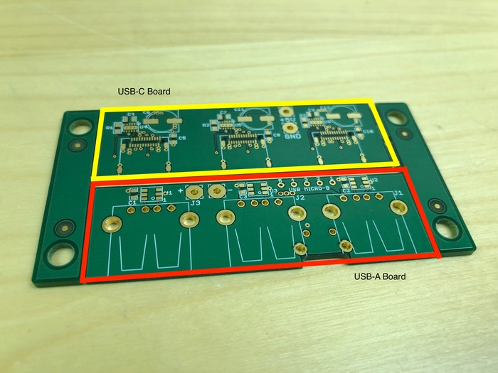 The USB panel