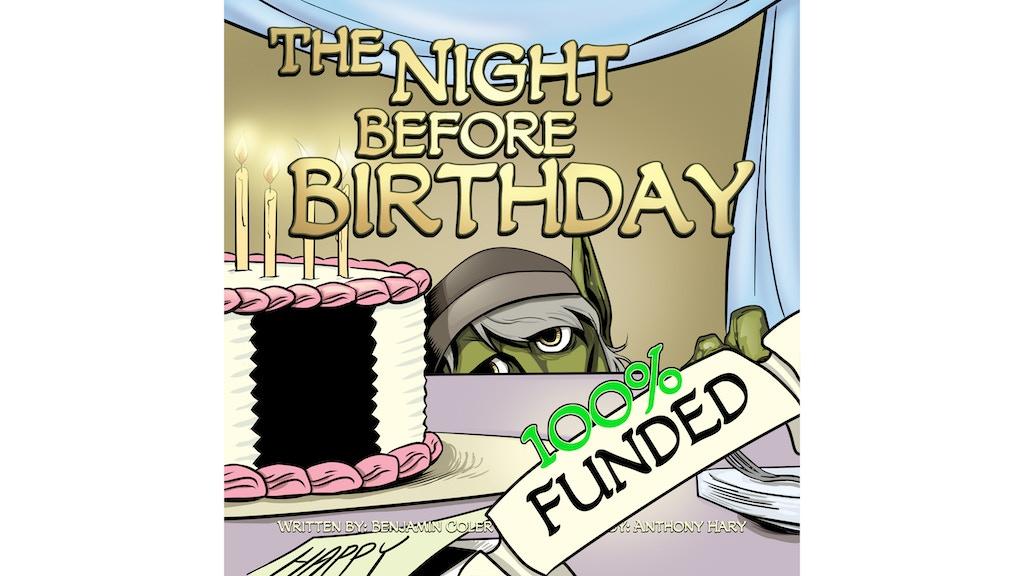 The Night Before Birthday (Children's Book)