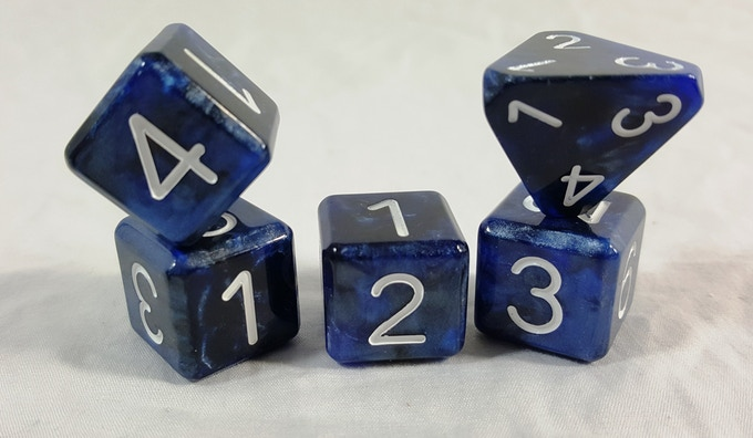 All our latest upgrades to quality, size, style,  and proportion without any of the flaws from past dice.