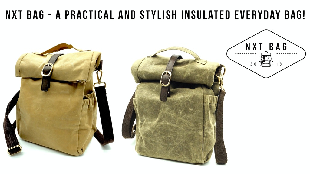NXT Bag - A practical and stylish insulated everyday bag! project video thumbnail