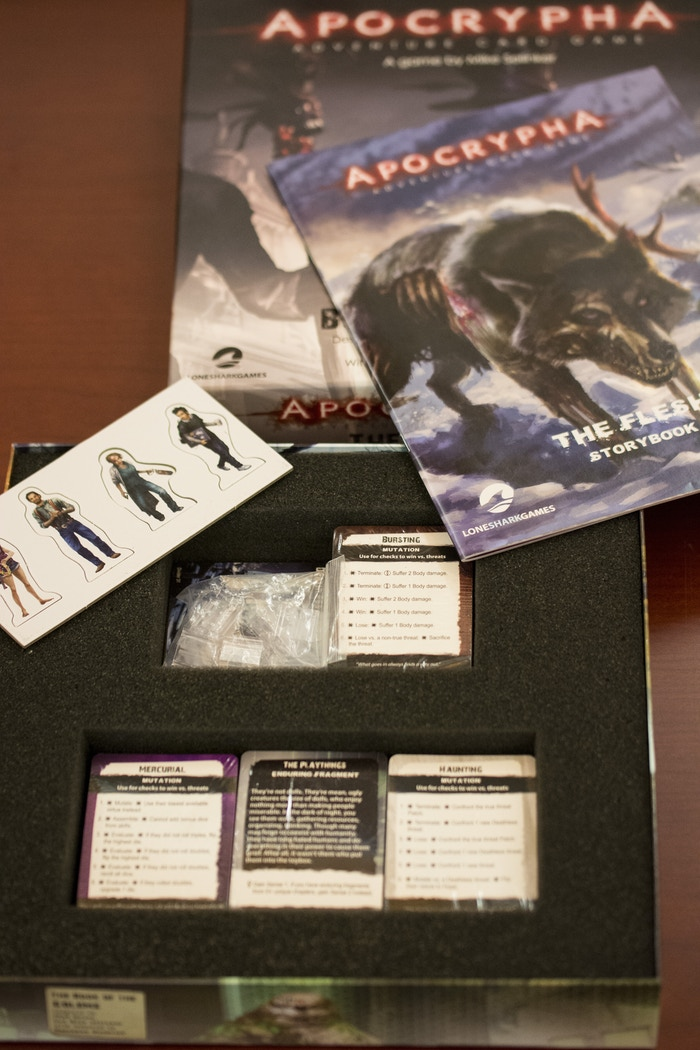 The Apocrypha Adventure Card Game by Lone Shark Games — Kickstarter