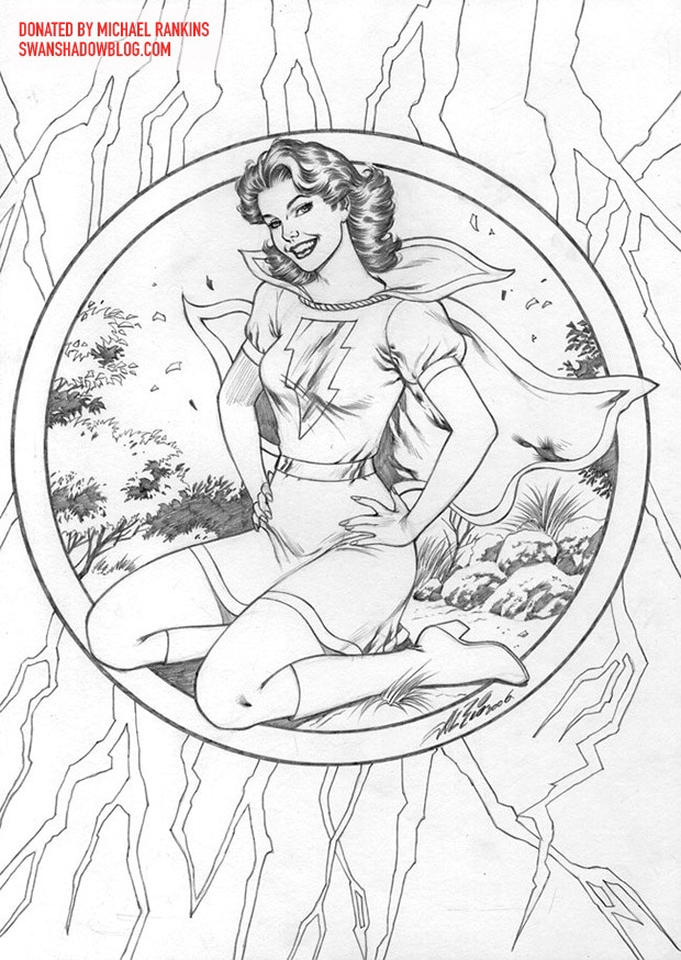 Mary Marvel original by Al Rio