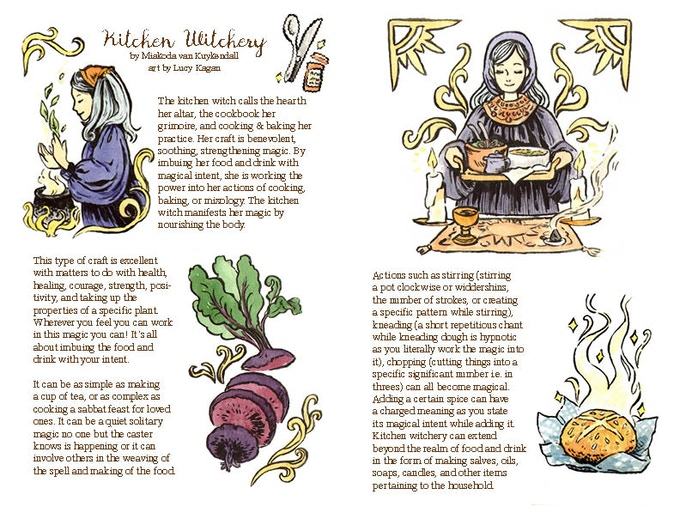 Hazel: Witches' Lifestyle Mini Magazine Issue #3 by Lucy Kagan ...