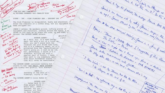 Musicals aren't written. but REwritten ...