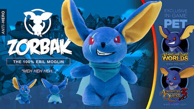 Moglins are as unique as the heroes they adventure with. Be careful, Zorbak may try to reanimate your lunch with his necromancy magic.