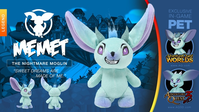 Shhh, Memet's not really a Moglin... she's really a Baku that eats bad dreams. She will be your loyal guardian..