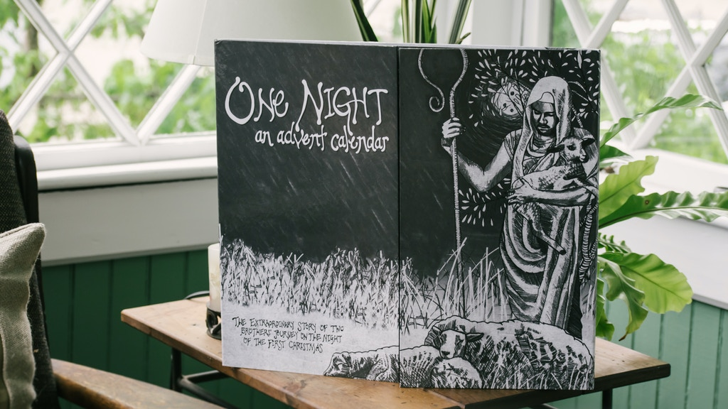 ONE NIGHT: Beautifully-Illustrated Advent Calendar project video thumbnail