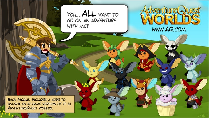AdventureQuest Worlds is a free online video game.