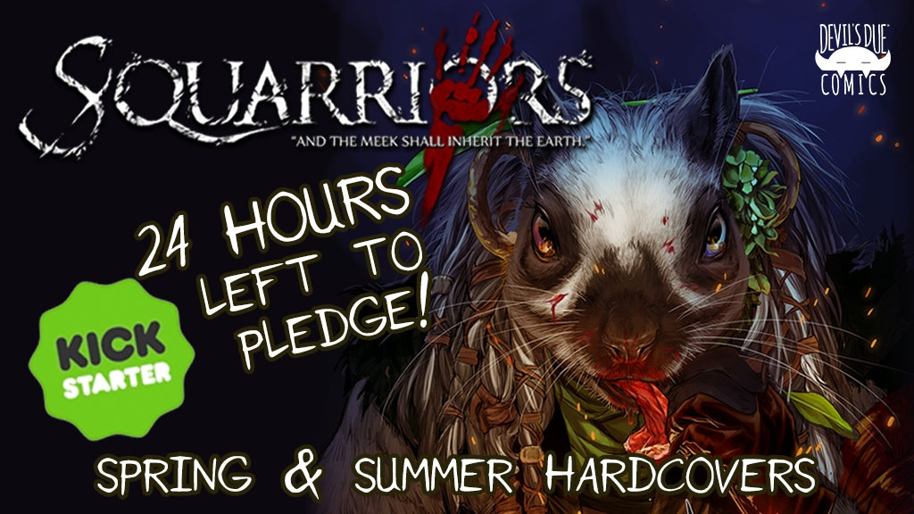 SQUARRIORS: New Oversize Hardcover & Variant Cards project video thumbnail