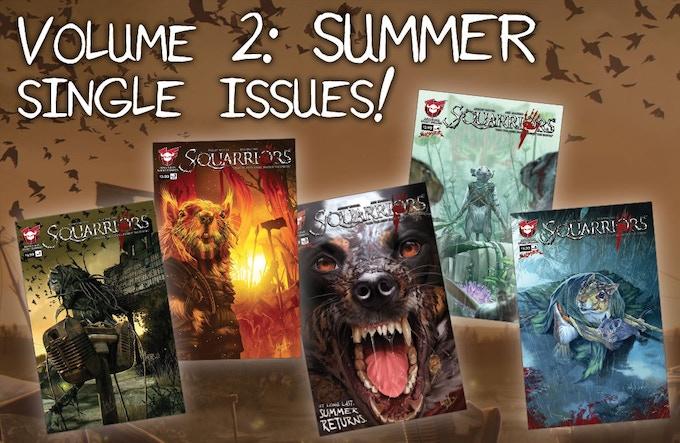 Squarriors Volume 2: Summer individual issues!