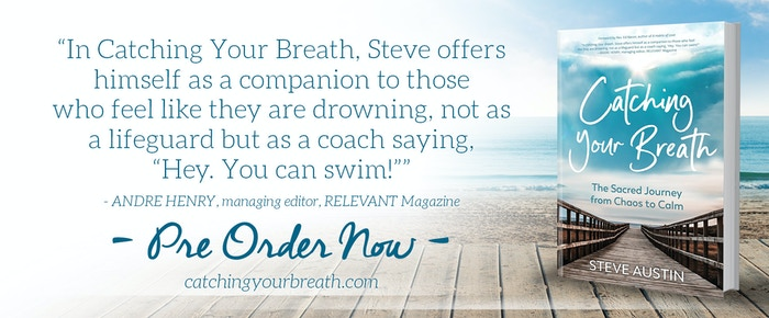 Steve Austin's new book will help you discover how to come up for air and breathe again.