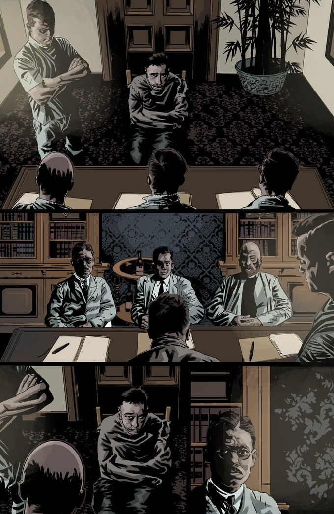 Issue 1 Page - No Letters