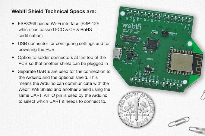 The Webifi Shield