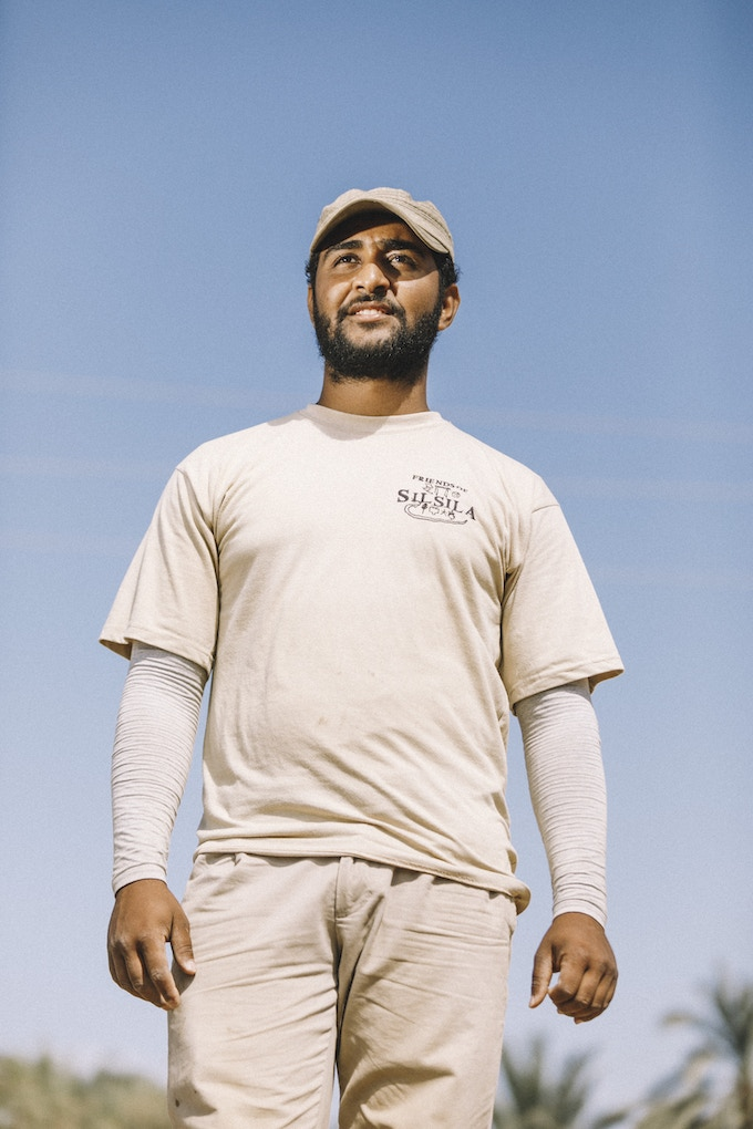 Silsila T-shirt in the field