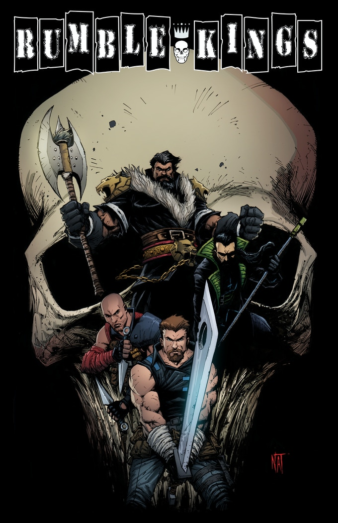 Rumble Kings #1 by Ryan Cummins — Kickstarter