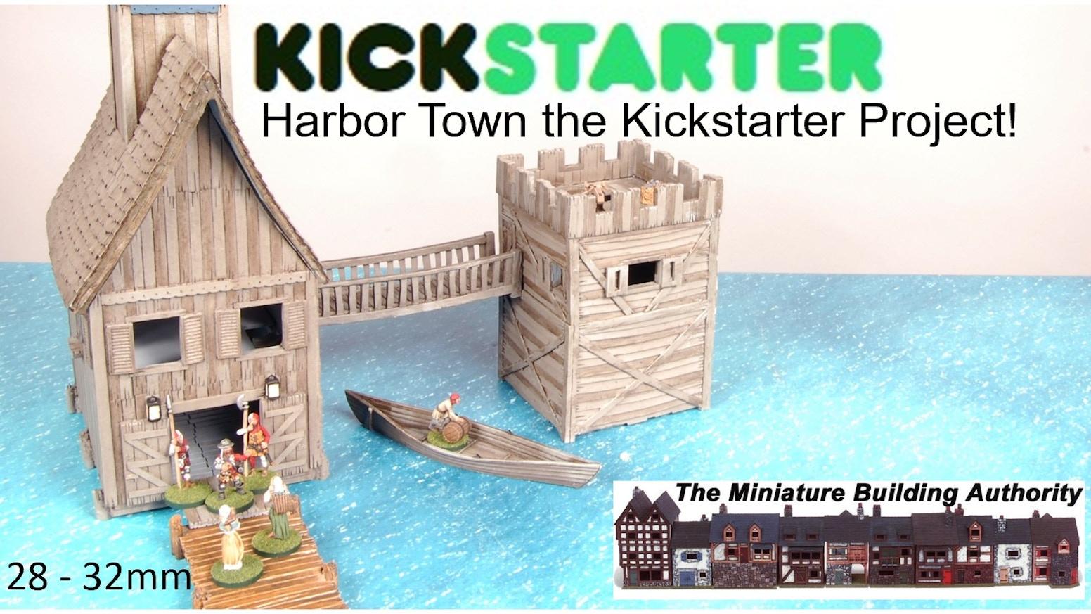 Harbor Town by Miniature Building Authority, Inc  — Kickstarter
