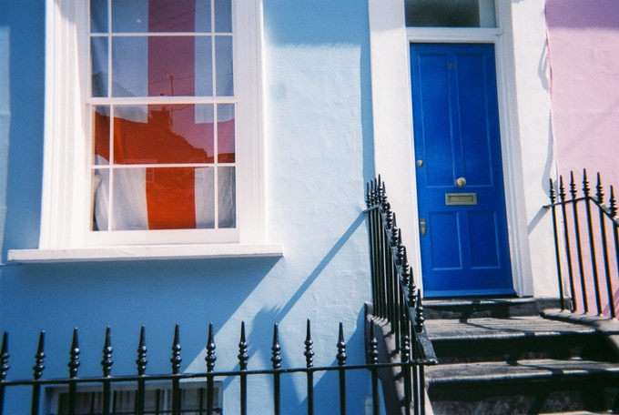 Notting Hill colours by Saffron Saidi. Not on calendar month, Photo reward option only.