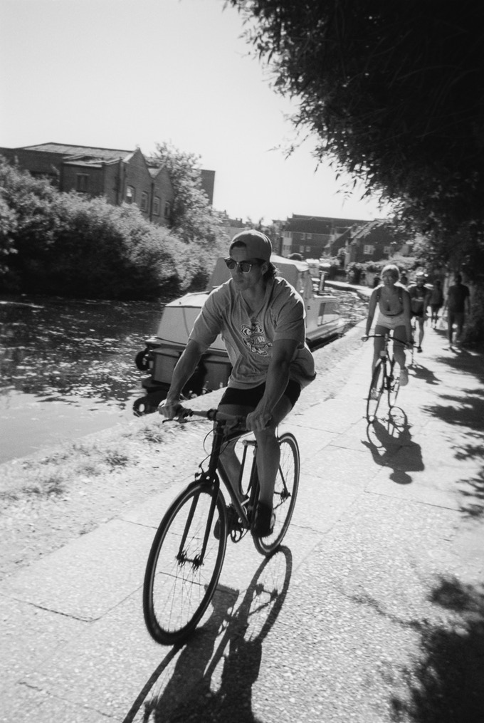 Cycling on the canal by Keith Norris. Not on calendar month, reward photo option only.