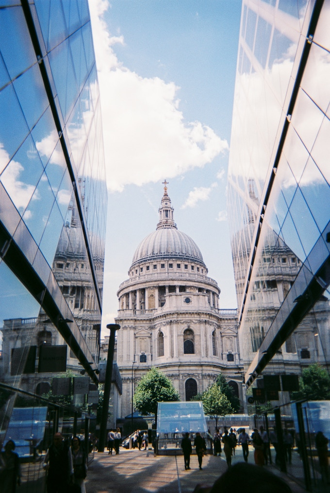 St Paul's in reflection by Wes. Not on calendar month, reward photo option only.