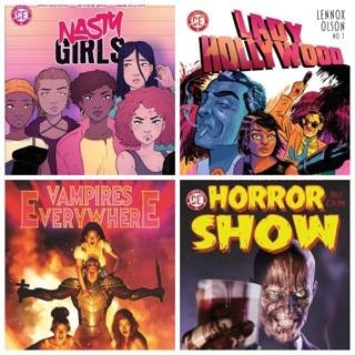 Nasty Girls GN, Lady Hollywood 1, Vampires Everywhere GN and Horror Show 1 & 2