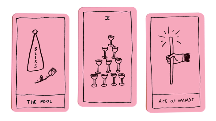 A cute tarot deck for beginners and experts alike. It's not perfect but it's OK.