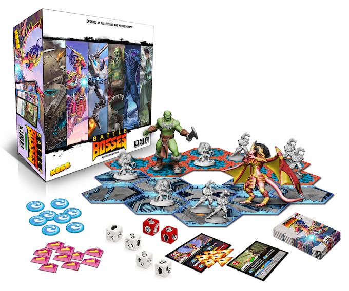 Battle Bosses by KessCo — Kickstarter