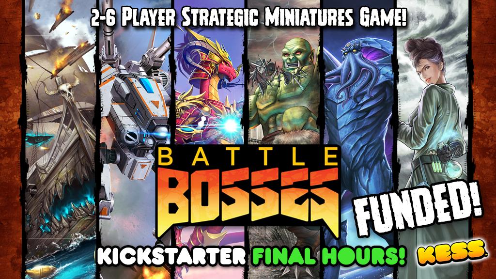 Battle Bosses project video thumbnail