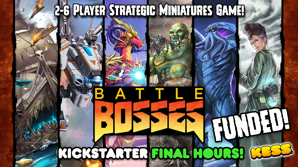 Battle Bosses project video thumbnail