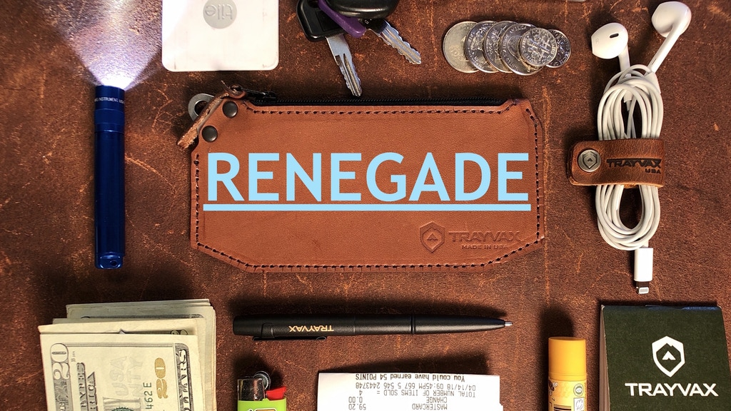 Simply heirloom pouch: The Trayvax Renegade project video thumbnail