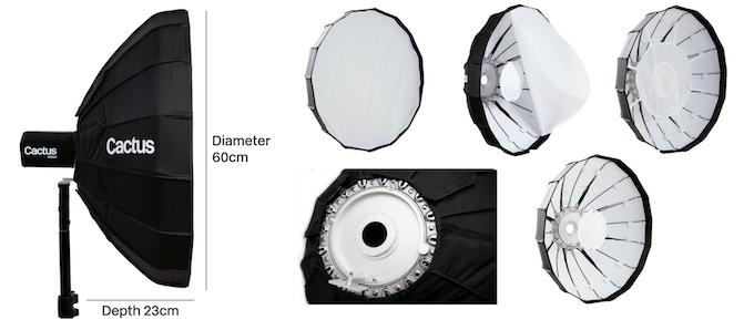 Add-on: 60cm Beauty Dish
