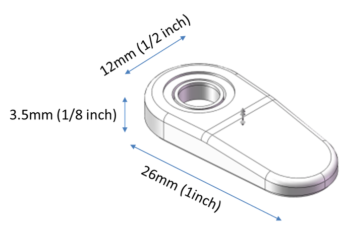 Fingertip Microscope - Add an 800x microscope to your phone by