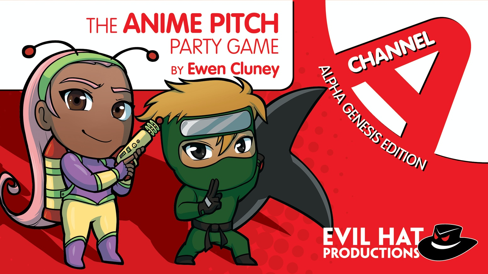 The anime pitch party game! Pitch shows and movies to the producer based on random words in your hand, and vote for your favorites.