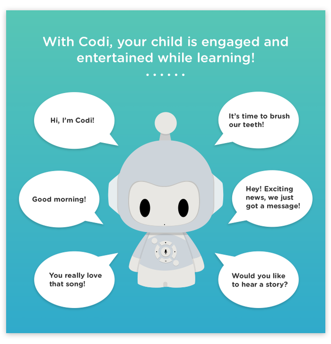 Codi: Interactive smart storyteller toy for kids (Canceled