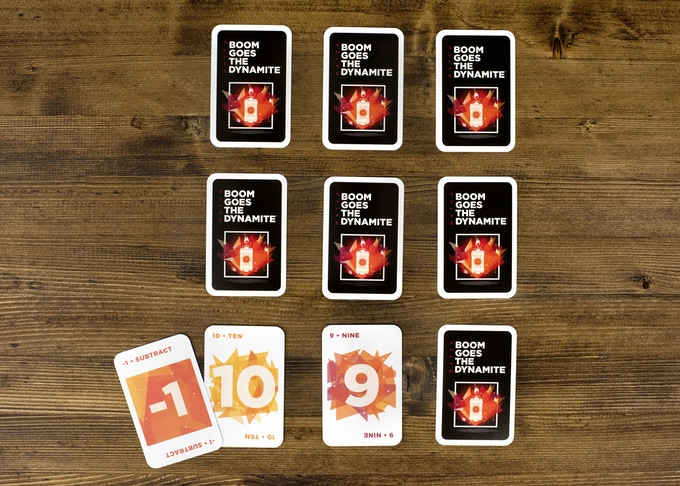 "...if the cards are not the same number, you can still ignite a match by using one or more of your IGNITE cards. For example, if you turn over a ""10"" and a ""9"", you can use a ""Subtract 1"" IGNITE card to ignite a match of nines (since 10-1=9)."