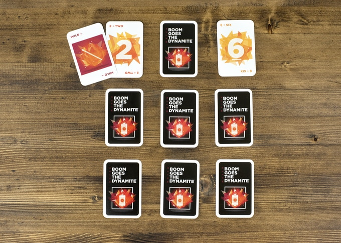 A WILD card may be used to either ignite a match between any two numbered cards or to add five seconds to a TIMER card.