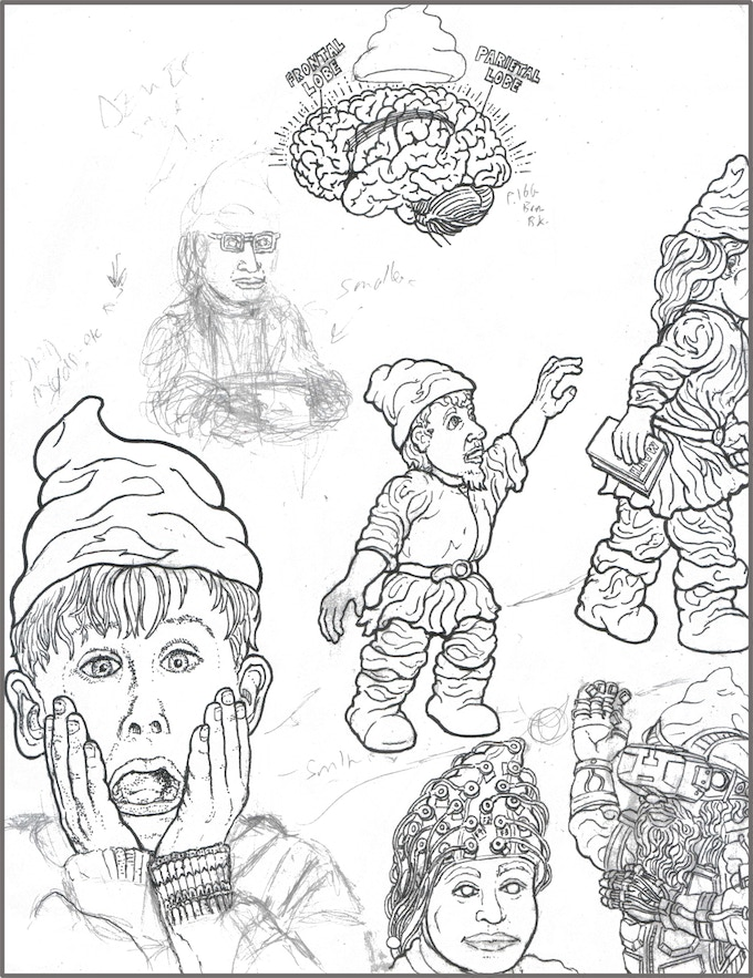 Gnome Child Left Behind - Examining Education philosophies and approaches - for gnomes and beyond. (picture still totally in development)