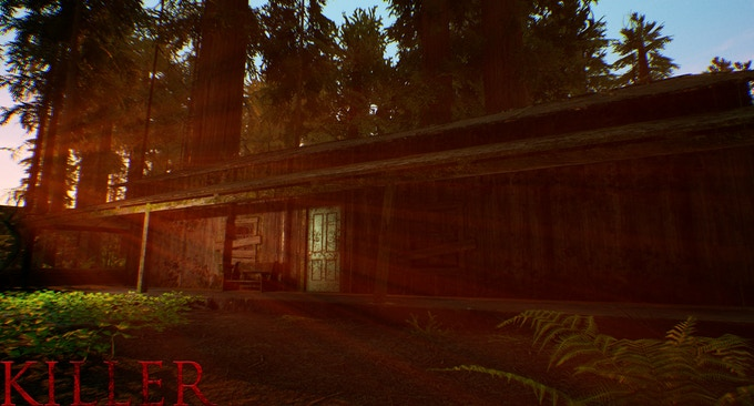 NEVER ENTER A CREEPY OLD CABIN IN THE MIDDLE OF THE FOREST...