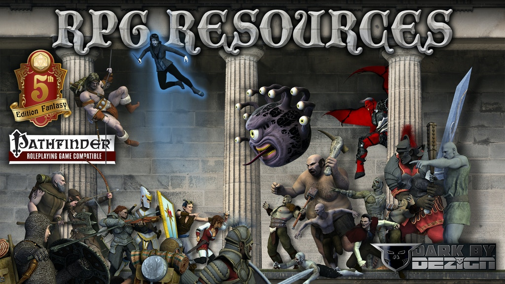 CREATE YOUR OWN FANTASY RPG ADVENTURE - RPG RESOURCES BOOKS