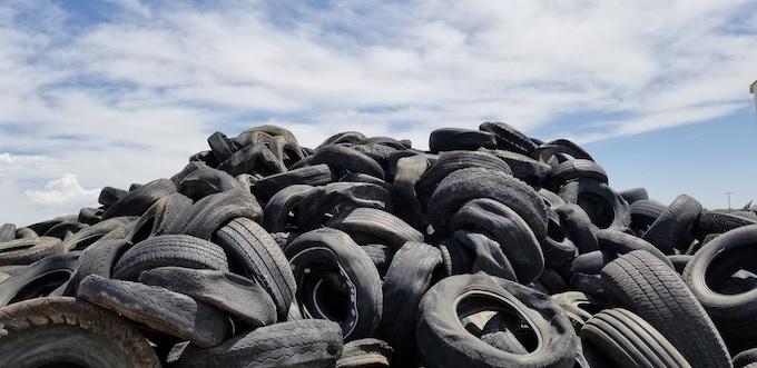 Help reclaim car tires from landfills.