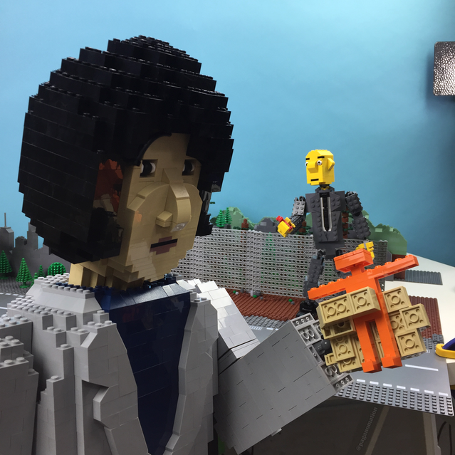Little Guys   In Space! A LEGO® Fan Film From Paganomation by