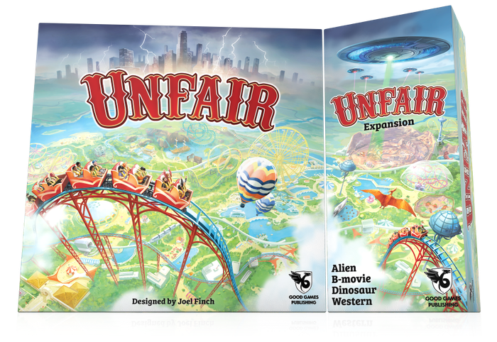Give your favourite theme park game Unfair a stellar boost when you mix in the new Alien, B-movie, Dinosaur and Western theme packs.