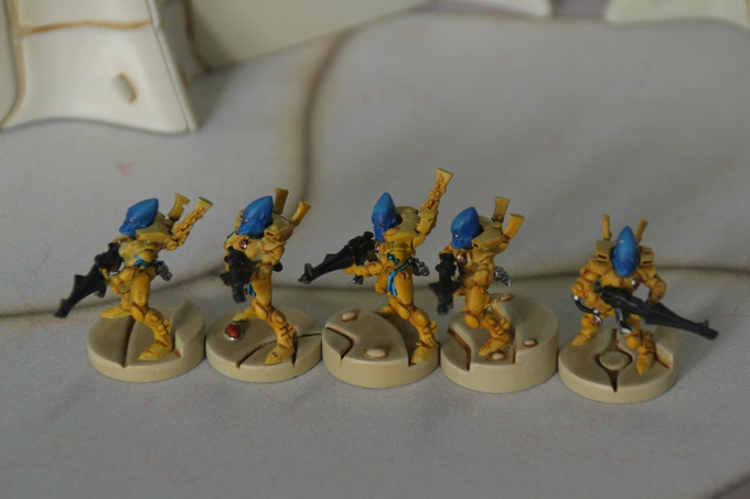 25mm based miniatures example 1