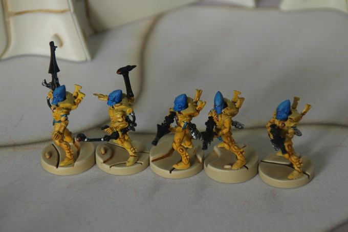 25mm based miniatures example 2