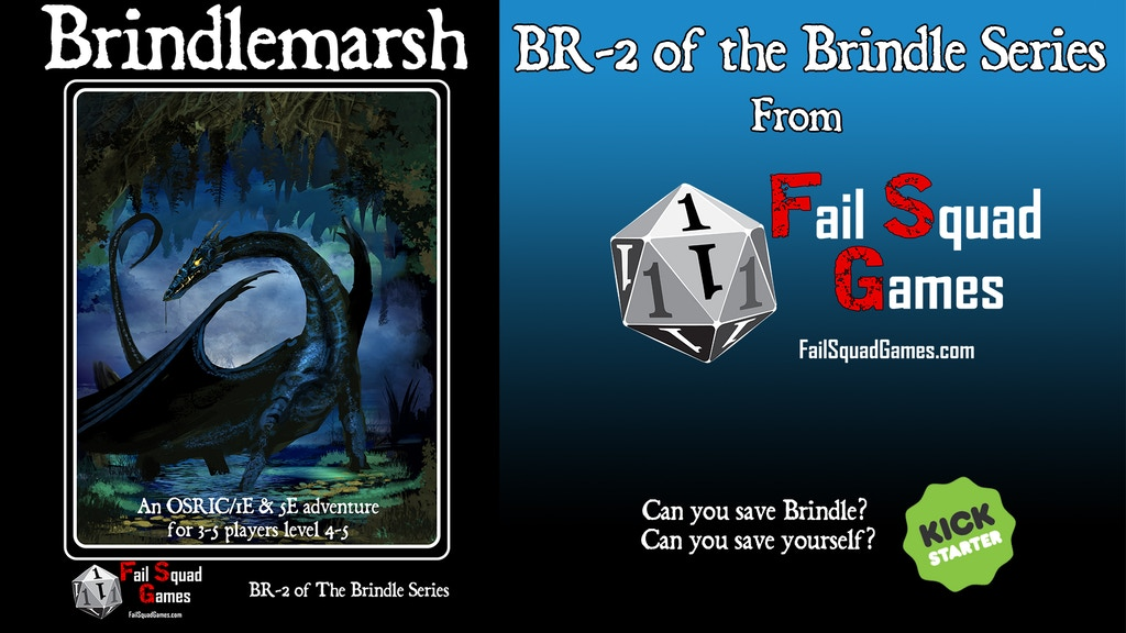 Brindlemarsh, a 1E & 5E adventure of Dragons and Dungeons project video thumbnail