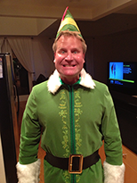 David as Buddy the Elf