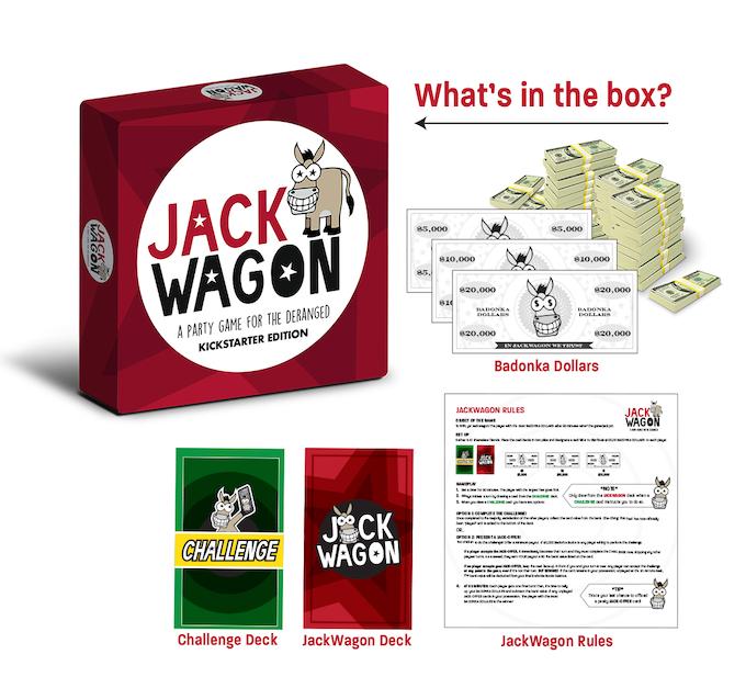 Jackwagon Game Box Contents