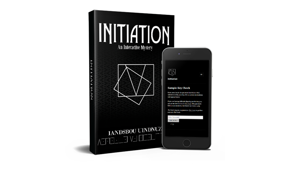 Initiation - An Interactive Puzzle Book project video thumbnail