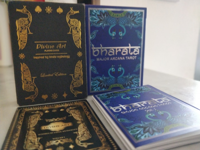 Booklets with previously released Divine Art & Bharata deck