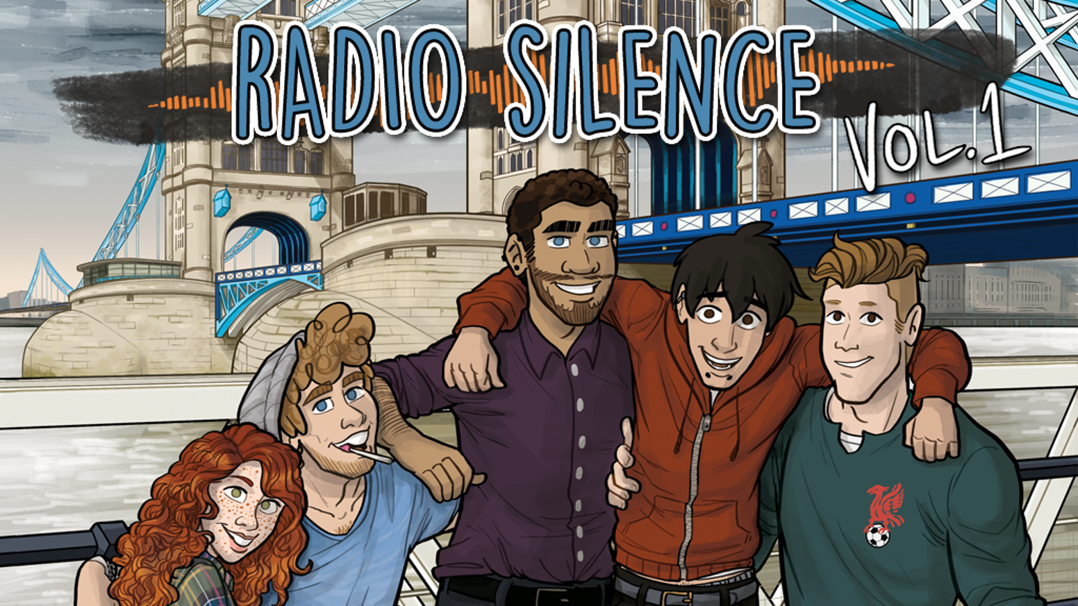 Radio Silence is a coming-of-age drama comic about a British rock band's rise to fame, now in a full colour 200 page book!