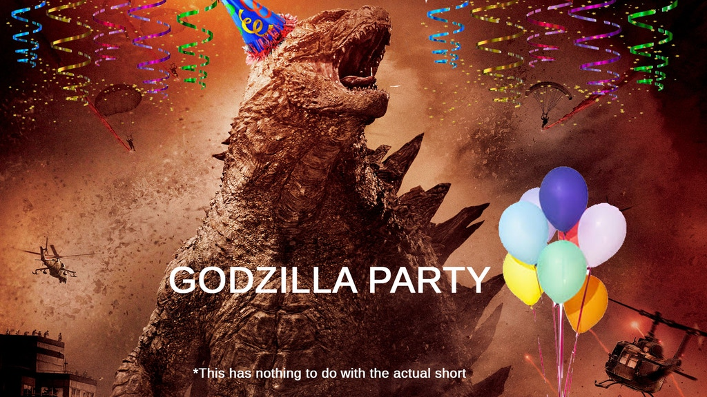 Godzilla Party - A Short Film project video thumbnail